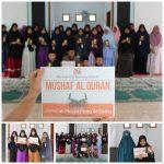 Penyaluran Wakaf Mushaf Al Qur'an