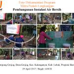 Proyek Wakaf Sumur di Kab. Lebak, Propinsi Banten