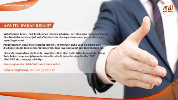 Apa itu Wakaf Bisnis?
