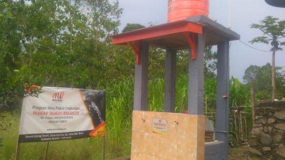 Wakaf Sumur Kolektif di Bone Telah Selesai Dibangun
