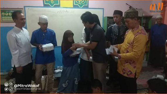 Mengejar Keberkahan Bulan Muharram 1441 H: Berbagi Keceriaan Bersama Yatim Piatu, Dhuafa dan Janda lansia.