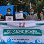 MITRA WAKAF INDONESIA SALURKAN DONASI UNTUK MAJENE SULBAR