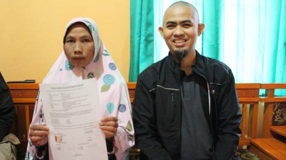 Mitra Wakaf Indonesia Serah Terima & Penanda Tanganan Surat Pernyataan Wakaf Tanah