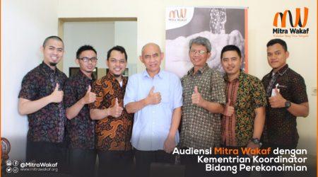 Mitra Wakaf Indonesia - Audiensi Kementrian Koordinator Bidang Kemaritiman